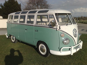 Vw samba volkswagen camper vans vans for sale 21 for 1963 vw samba t1 21 window split screen campervan