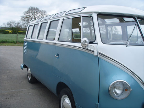 Vw samba volkswagen camper vans vans for sale 21 window for 1963 vw samba t1 21 window split screen campervan